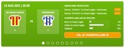 Morgen begint de Eredivisie